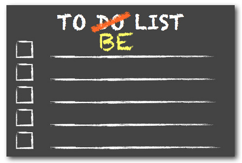 to be list
